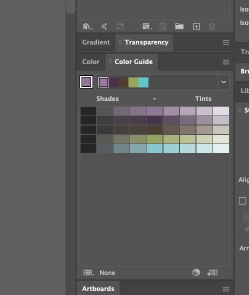 Adobe Illustrator colour guide tool 02