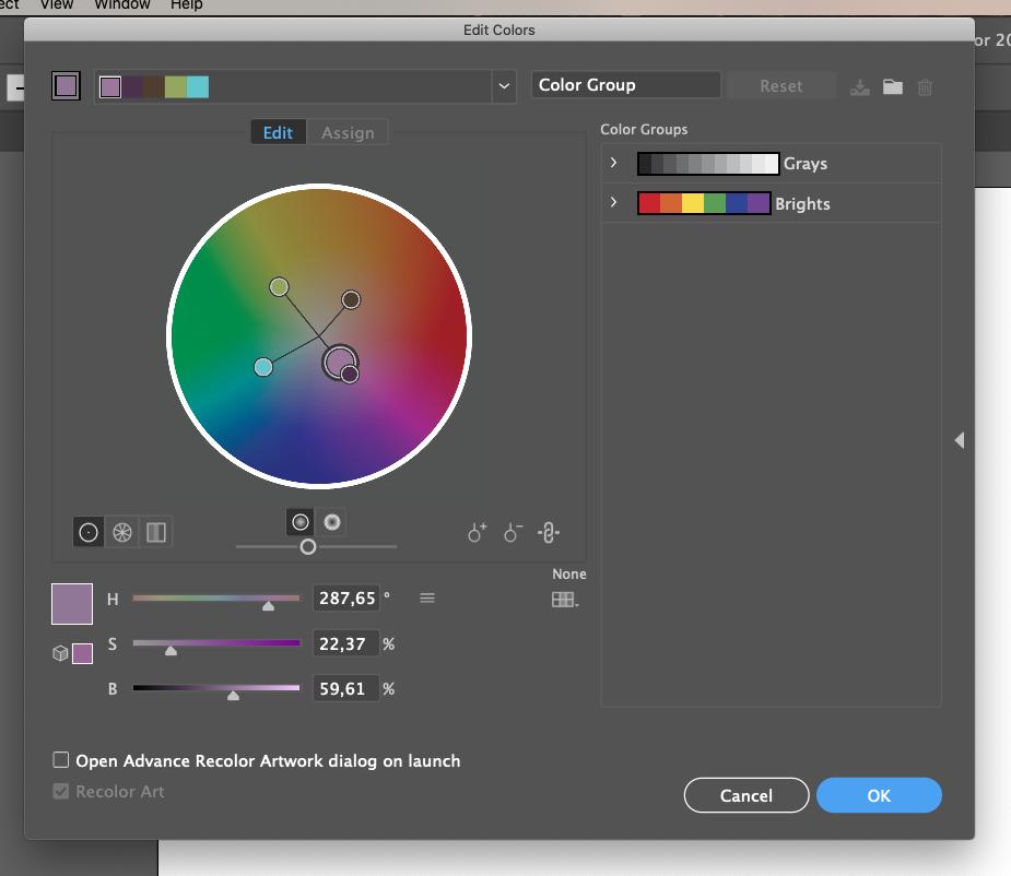 Adobe Illustrator colour guide tool 03