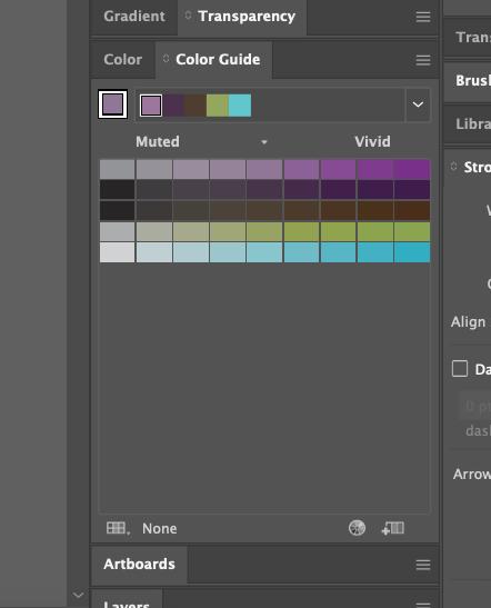 Adobe Illustrator colour guide tool 06