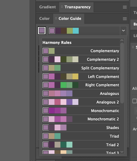 Adobe Illustrator colour guide tool 07